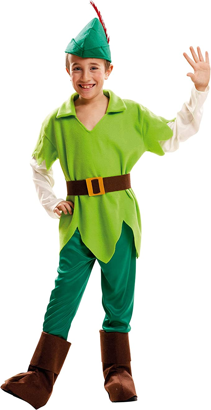 My Other Me Me-202056 Disfraz Peter Pan para niño, 7-9 años ...