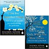 Love for Imperfect Things, The Things You Can See Only When You Slow Down 2 Books Collection Set By Haemin Sunim