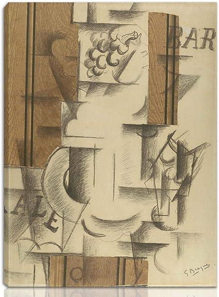Berkin Arts Georges Braque Estirado Giclee Imprimir en Lienzo ...