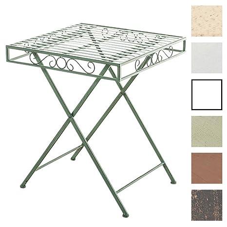 Tavoli In Metallo Da Esterno.Clp Tavolo Da Giardino In Metallo Funda Realizzato A Mano Tavolo