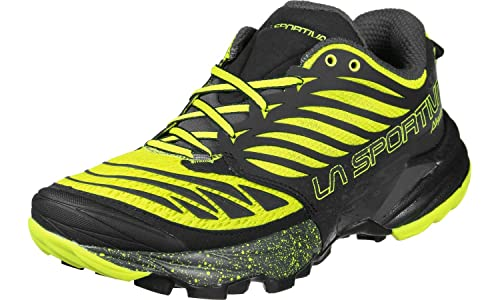 La Sportiva Akasha, Zapatillas de Trail Running Unisex Adulto, (Black/Sulphur 000), 38.5 EU: Amazon.es: Zapatos y complementos