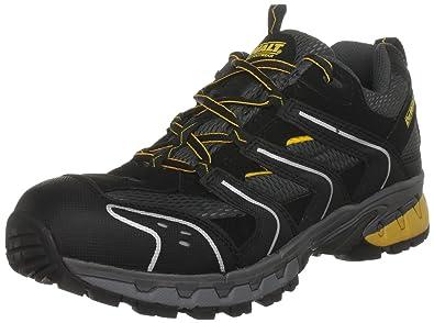 Dewalt - Cutter, Zapatos de Seguridad Hombre, Negro (Black/Grey),