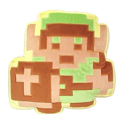 Little Buddy Legend of Zelda 1378 Link W/ Cross Shield Type A Cushion Pillow Stuffed Plush: Toys & Games