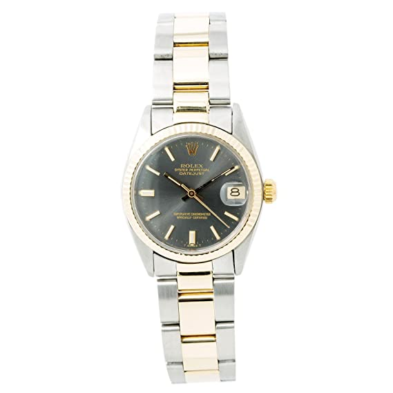Rolex Datejust 6827 - Reloj automático para mujer (certificado de autenticidad)