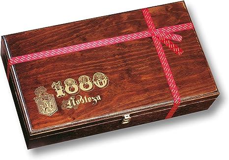 ⭐ Selección Turrones 1880 presentada en una lujosa y elegante caja de madera   Contiene un amplio surtido de turrones, dulces y chocolates  : Amazon.es: Alimentación y bebidas