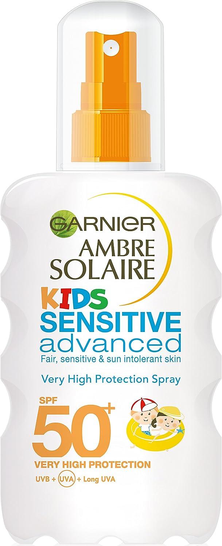 Ambre Solaire Kids Sensitive Sun Cream Spray SPF50+ 200ml Garnier Ambre Solaire 3600541309593