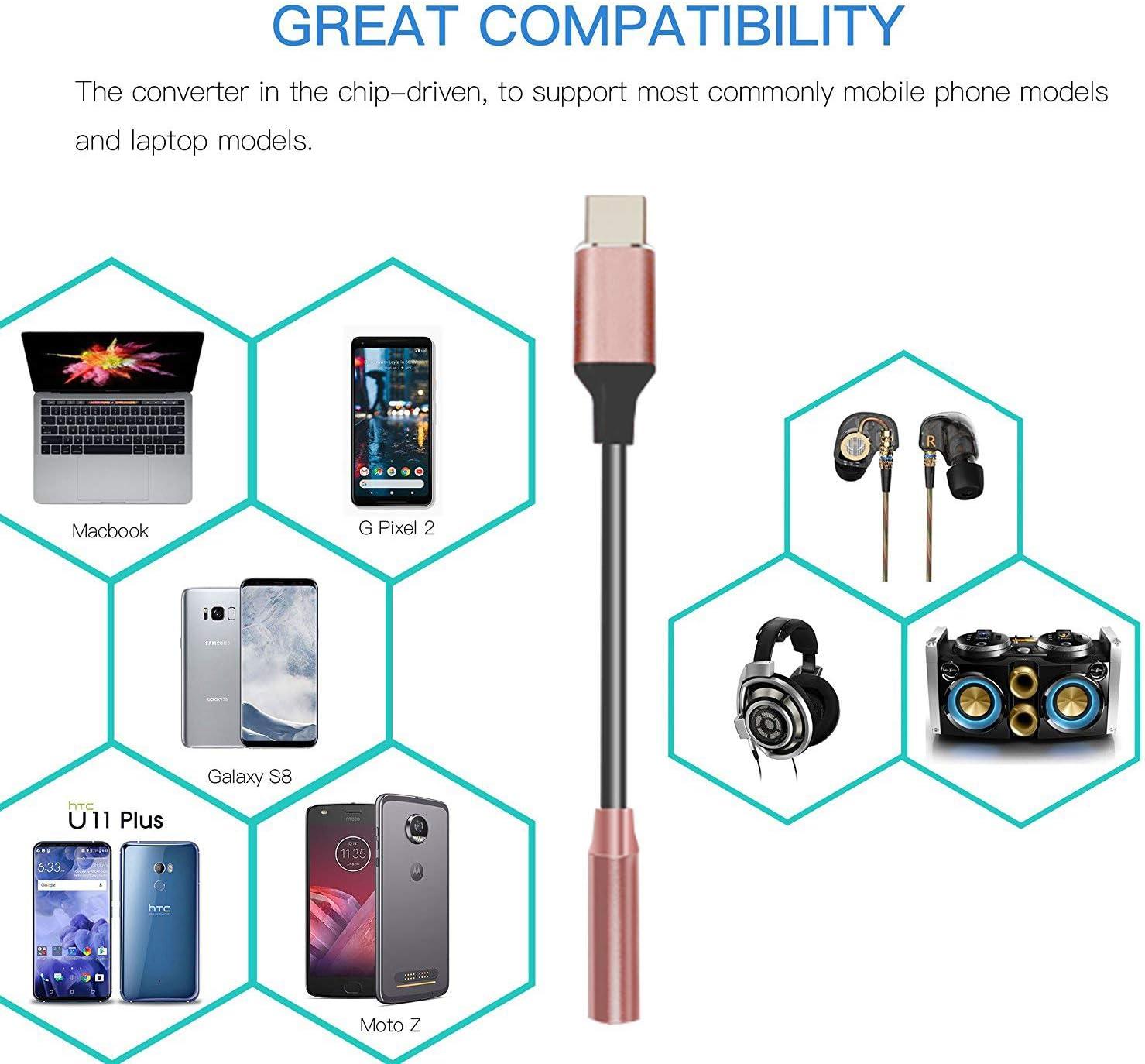 iphone earphones adapter Pink