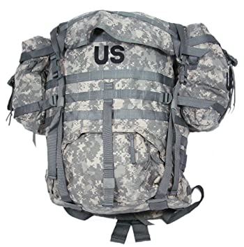 Amazon.com : MOLLE II Rucksack Backpack Assembly (ACU), Large ...
