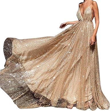 Vestiti Eleganti Su Amazon.Anmain Tulle Cocktail Vestiti Eleganti Donna Festa Sexy Abito Da