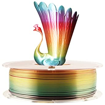 Silk Fast Color Change Rainbow Multicolor filamento de impresora ...