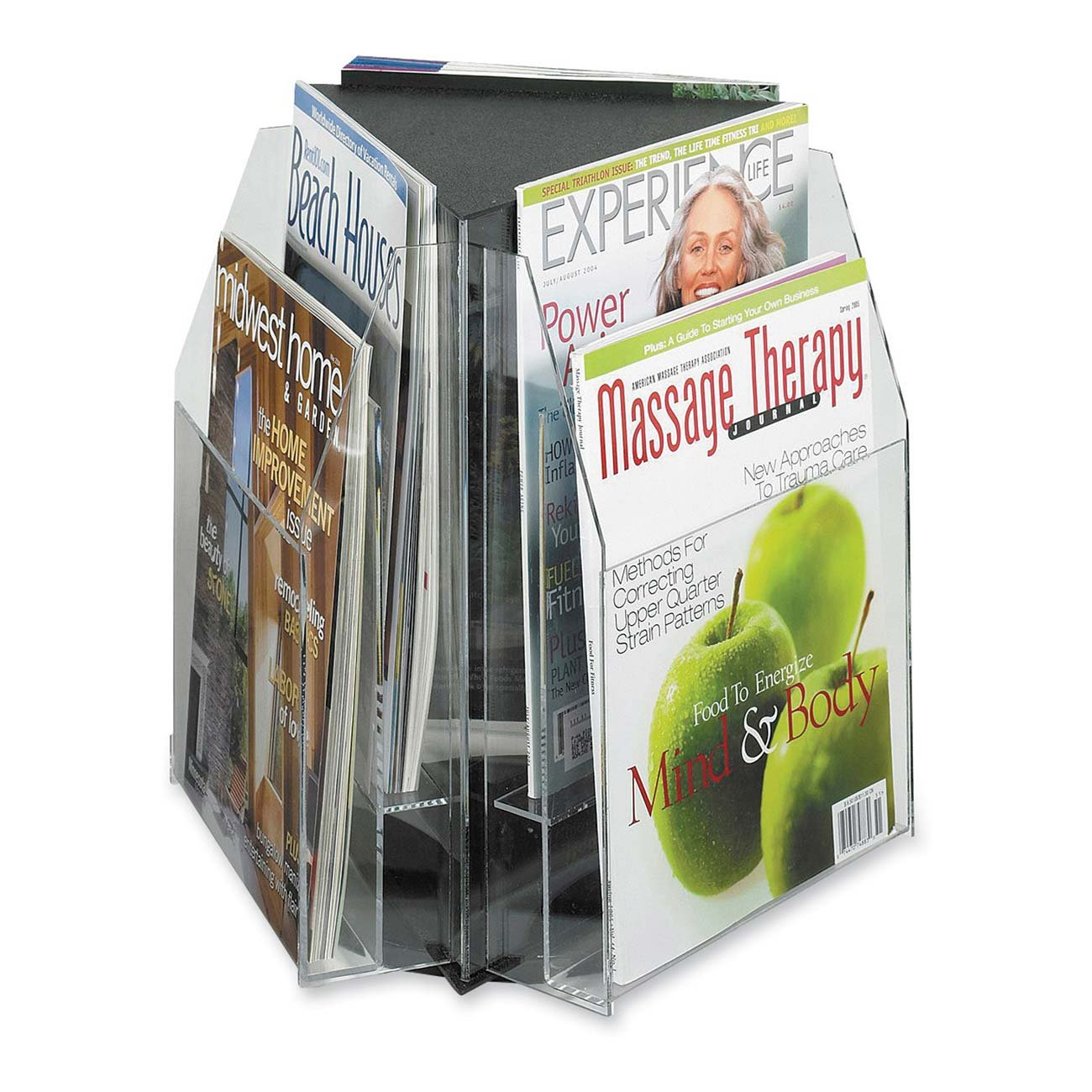 Amazon.com : Safco Products 5697CL Reveal Table Top Literature Display, 6  Pamphlet, Clear : Office Racks And Displays : Office Products Part 55