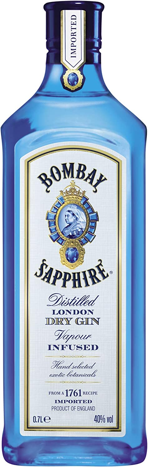 Bombay Sapphire London Dry Gin (1 x 0.7 l)