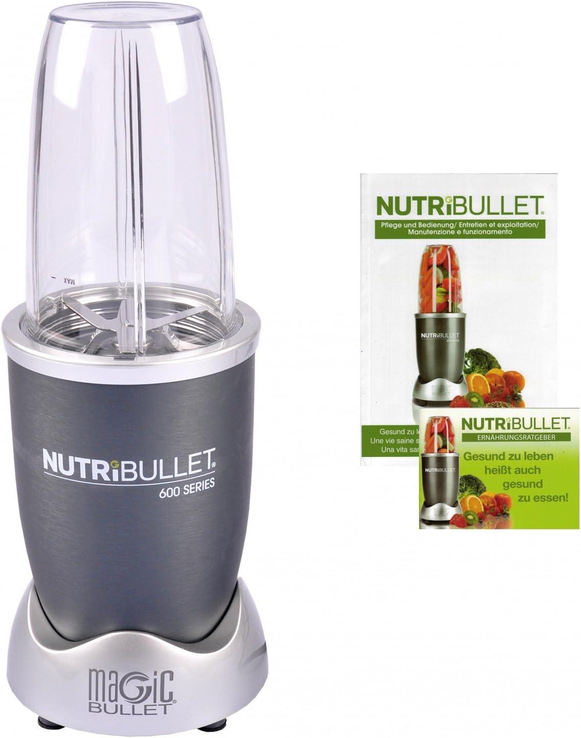 NutriBullet NB 5G Máquina para smoothies, Acero Inoxidable, gris ...