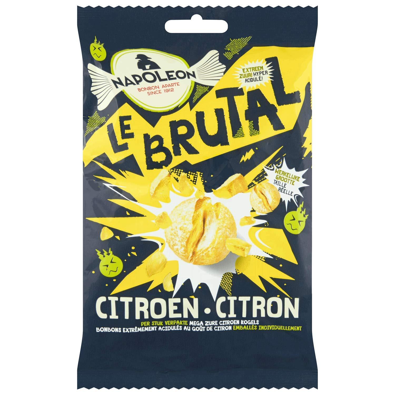 Napoleon Le Brutal Citroen (2 x 135g) - Extra strong lemon flavored sweets
