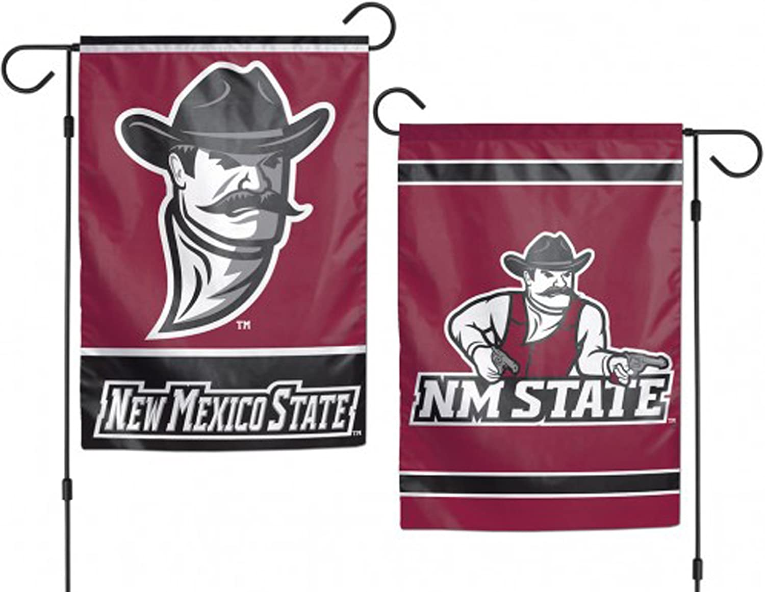 New Mexico State Aggies NCAA Garden Flag 12.5 x 18 Inches 2 Sided