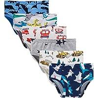 Boboking Little Boys Briefs Dinosaur Truck Toddler Kids Underwear