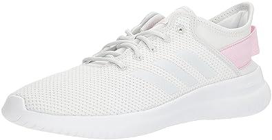 adidas cloudfoam white pink