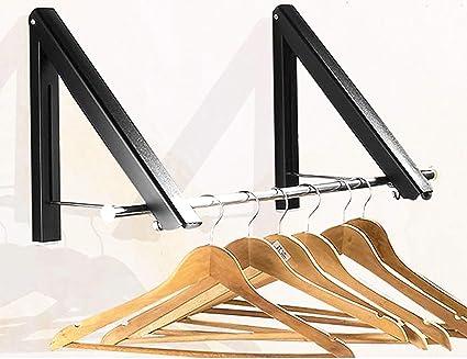 Amazoncom Clothes Hanger Folding Retractable Clothes Racks