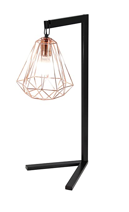 Amazon gwg outlet metal wire table lamp 26h 58686 home kitchen gwg outlet metal wire table lamp 26quot greentooth Image collections