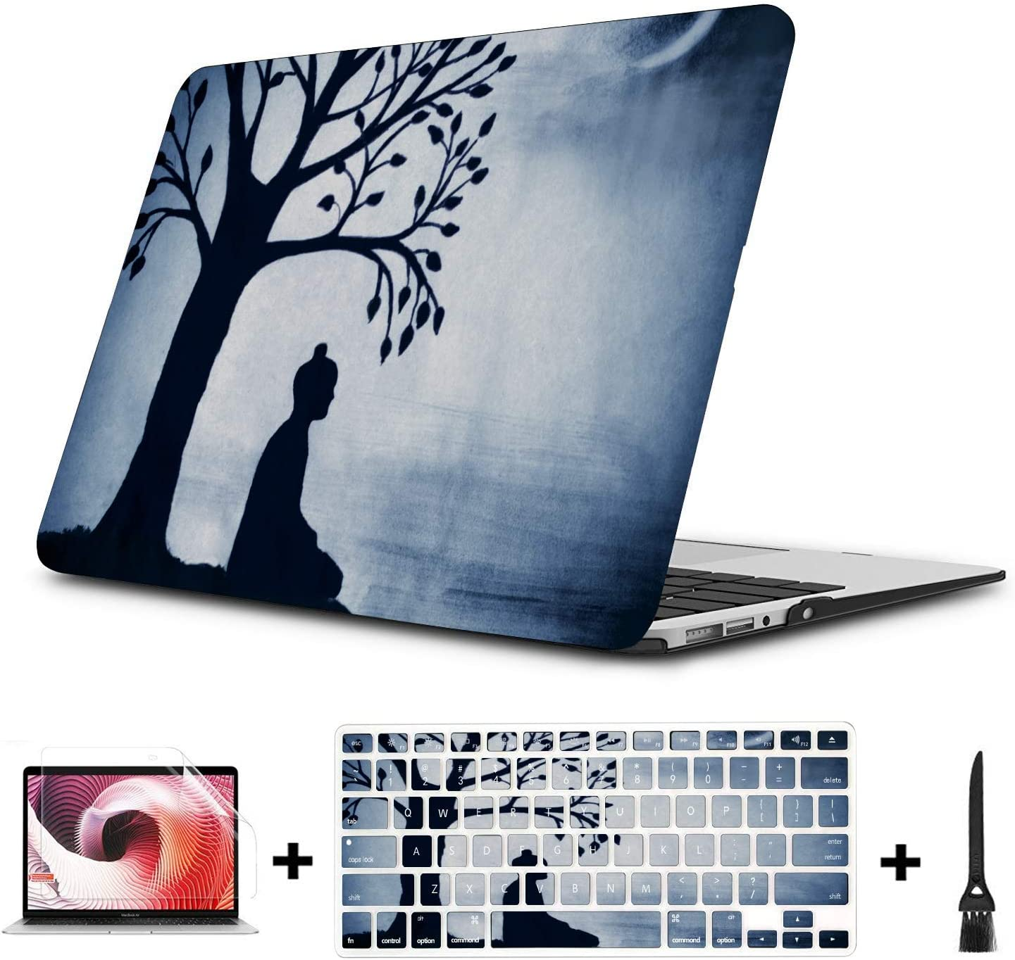 Laptop Cases Skiing Extreme Sports Entertainment Plastic Hard Shell Compatible Mac Air 11 Pro 13 15 Mackbook Pro Case Protection for MacBook 2016-2019 Version