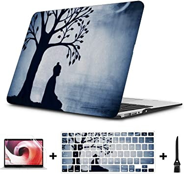 MacBook Pro Computer Case Skiing Extreme Sports Entertainment Plastic Hard Shell Compatible Mac Air 11 Pro 13 15 Mac Pro Laptop Case Protection for MacBook 2016-2019 Version