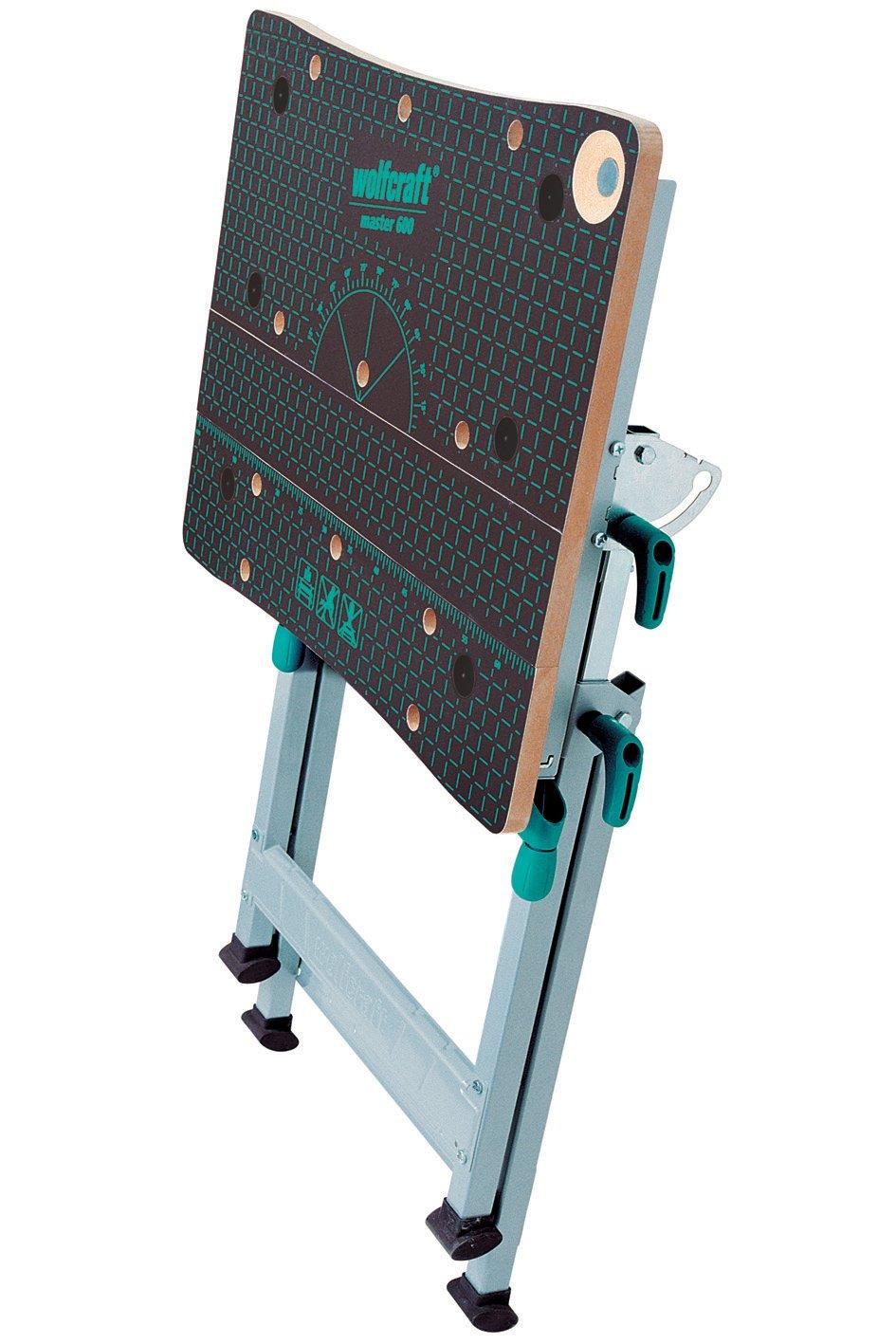 71PDL5MI YL. SL1417  Wolfcraft 6182 Master 600, tavolo da lavoro regolabile in altezza da 78 a 95 cm