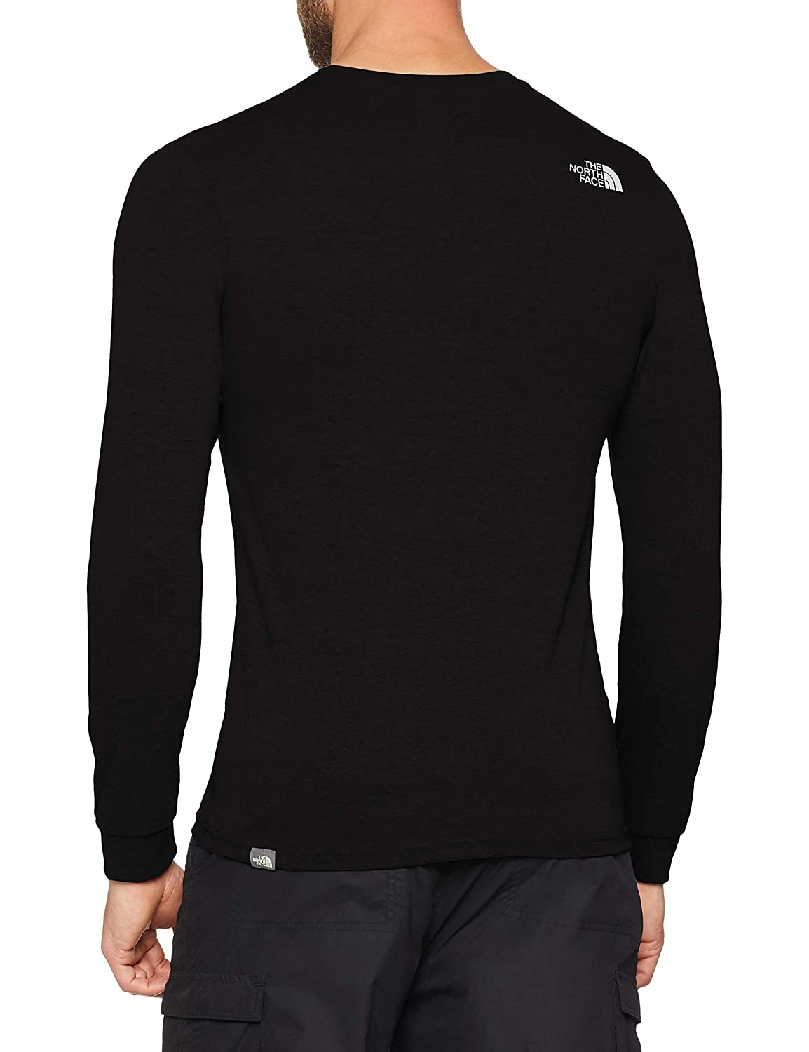 6b054a43 THE NORTH FACE Men's Long-sleeve Simple Dome T-Shirt: Amazon.co.uk: Sports  & Outdoors