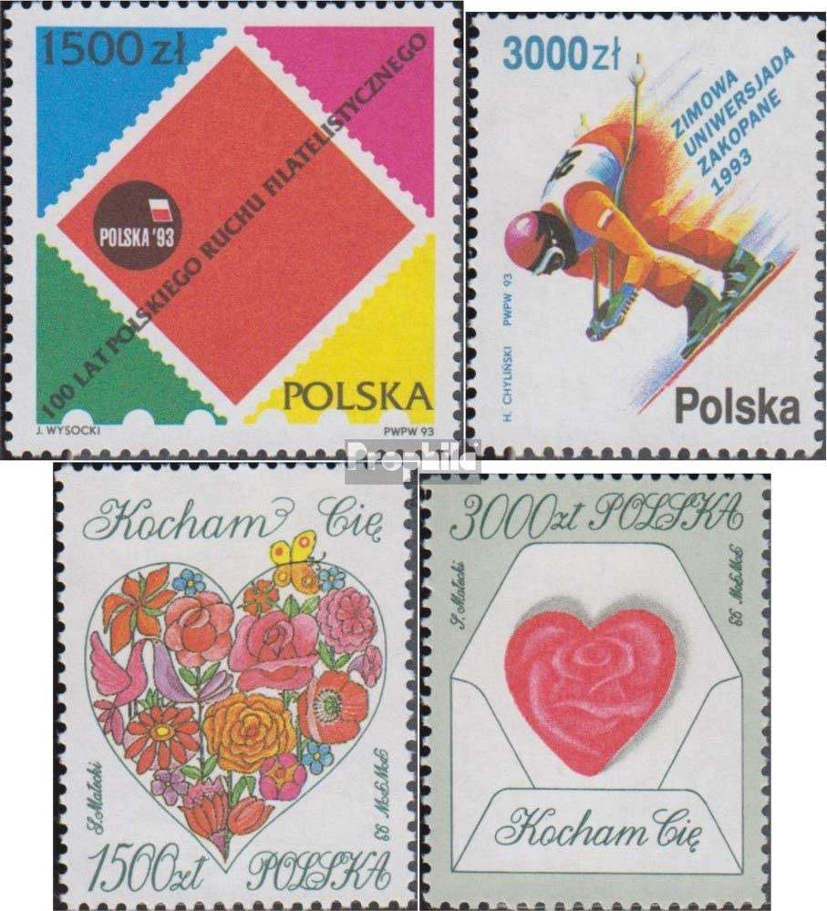 Prophila Collection Polonia 3425,3431,3432-3433 (Completa.edición ...