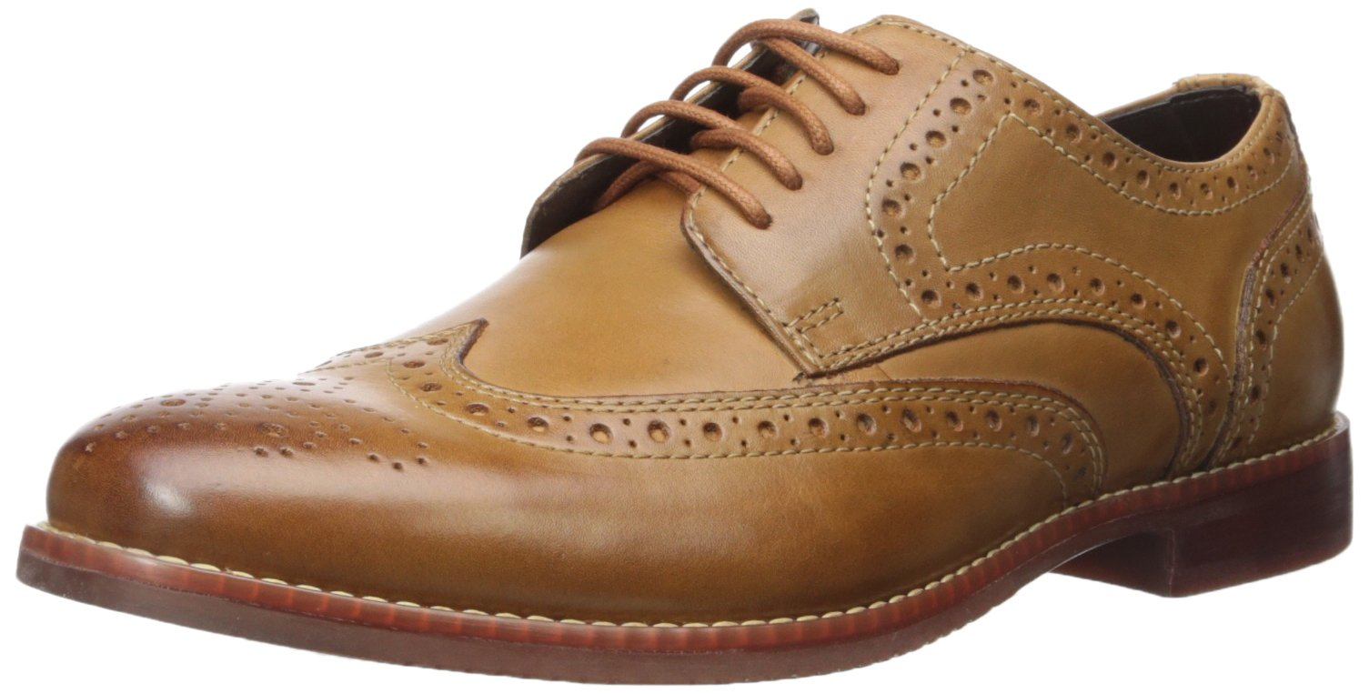 Rockport Men's Style Purpose Wing Tip Tan- 6.5 2w Us-6.5 W by Rockport (Image #1)