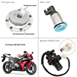 INNOGLOW Motorcycle Ignition Switch Key Fuel Gas
