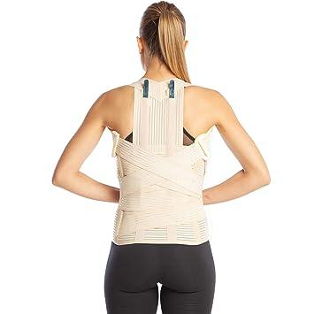 Corrector de postura, corrector espalda ortopédica de grado médico, tallas