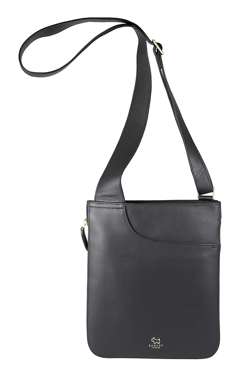4b7d9ef974cd Radley London Pocket Bag Medium Zip-Top Crossbody (Black)  Handbags   Amazon.com