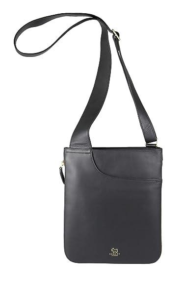 b0f1f77a46c30e Radley London Pocket Bag Medium Zip-Top Crossbody (Black): Handbags ...