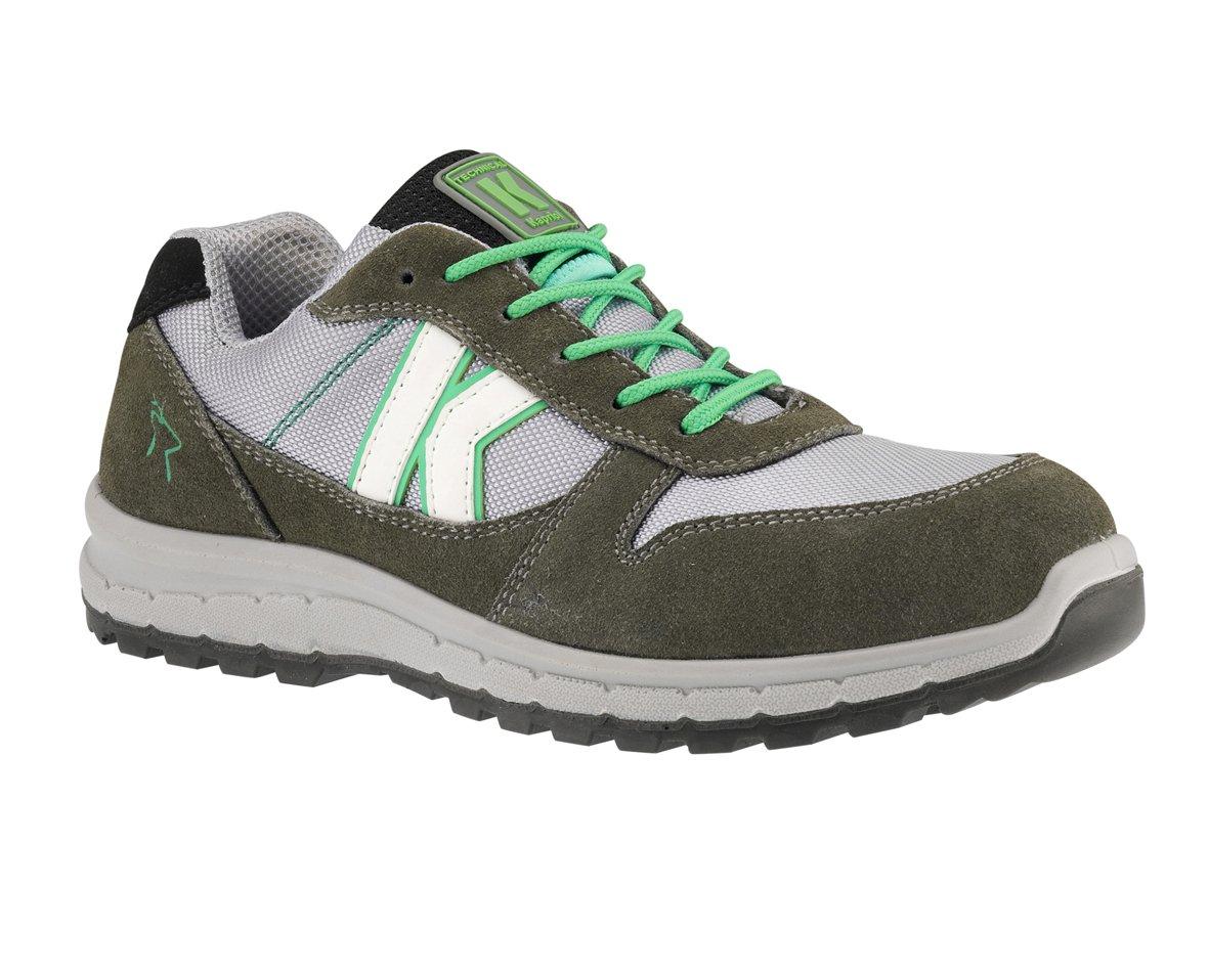 Zapatos de seguridad bajos Derby vert-gris Kapriol: Amazon.es: Bricolaje y herramientas