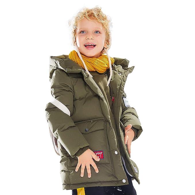 Amazon.com: BOSIDENG 2018 - Chaqueta de invierno para niños ...
