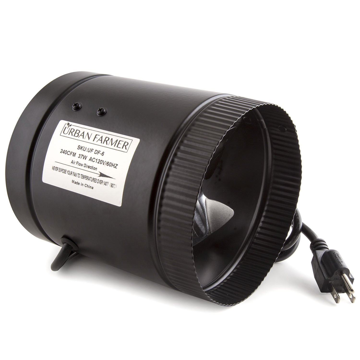 Urban Farmer 6'' Inch Inline Duct Booster Fan 240 CFM