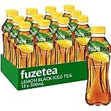 Fuze Lemon Black Iced Tea Bottle, 12 x 500 ml