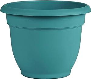 """Bloem AP1226 Ariana Self Watering Planter 12"""", Bermuda Teal Green"""