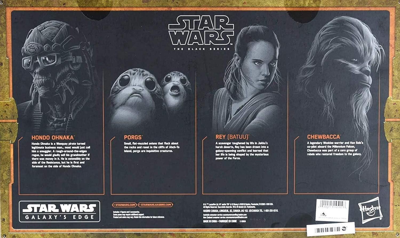 NEW Star Wars Galaxy/'s Edge SMUGGLERS RUN Black Series Set w//HONDO!!