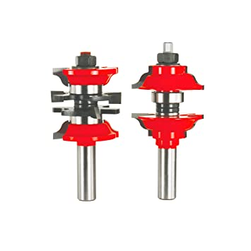 Freud 2-Piece Entry \u0026 Interior Door Router Bit Set - Ogee Profile for 1