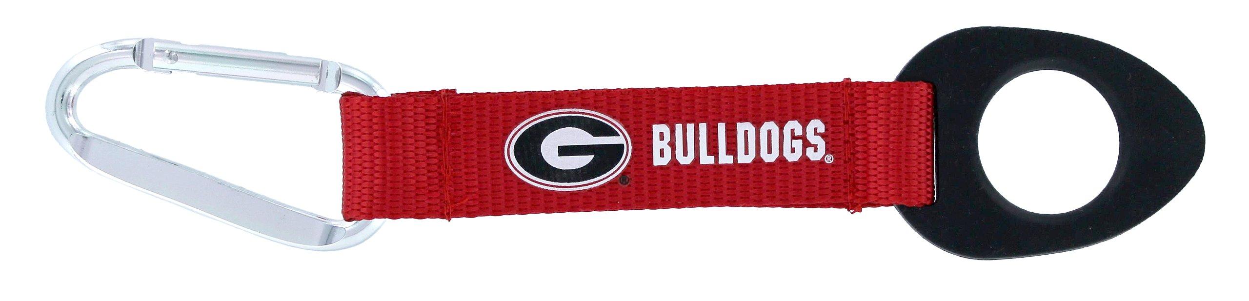 NCAA Georgia Bulldogs Carabiner Bottle Holder Keychain by aminco (Image #1)