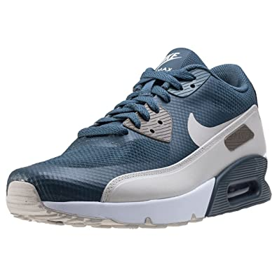 on sale 53d44 009c5 Nike AIR MAX 90 Ultra 2.0 Essential Mens Running-Shoes 875695-401_8 - Blue