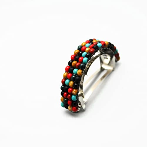 Image Unavailable. Image not available for. Color  Western Theme Beaded  Ponytail Holder 2d82756679c