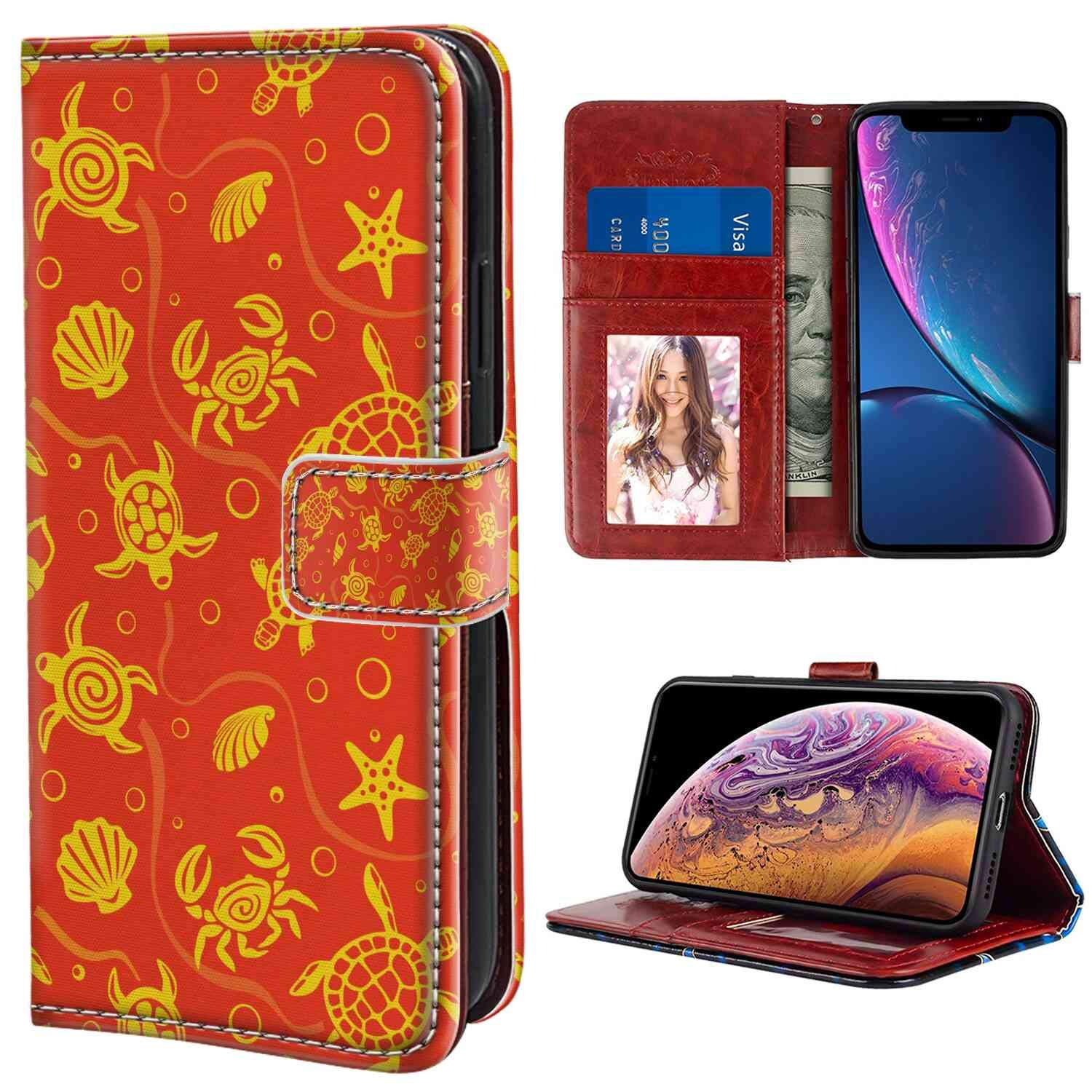 Amazon Com Wallet Case Compatible With Iphone Xs Max 6 5