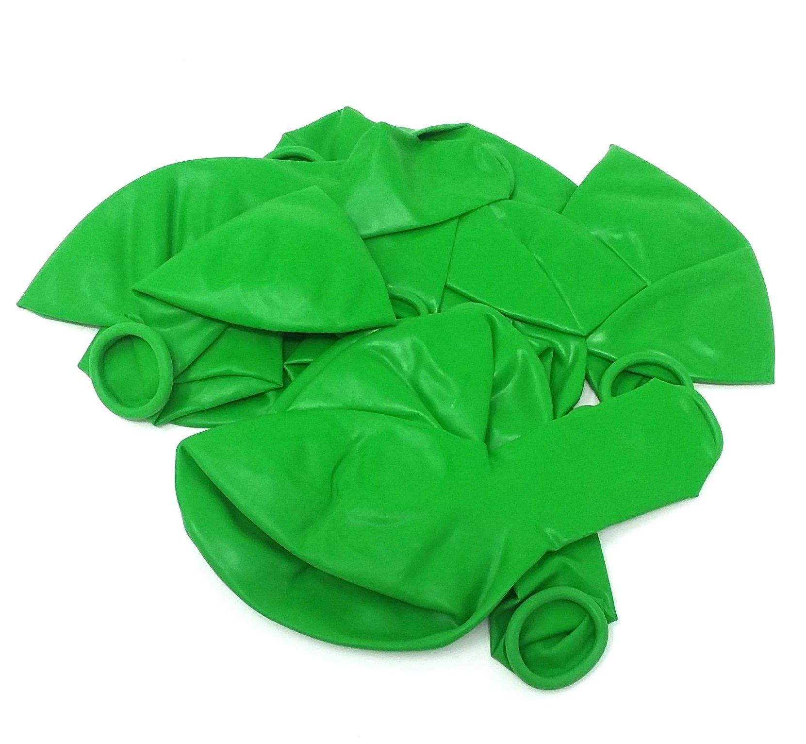 2,000 GREEN 12'' PARTY BALLOONS BULK WHOLESALE LOT