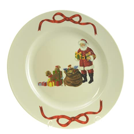 Martha Stewart Cookies For Santa Plate Holiday Garden Collection Dinnerware  sc 1 st  Amazon.com & Amazon.com | Martha Stewart Cookies For Santa Plate Holiday Garden ...