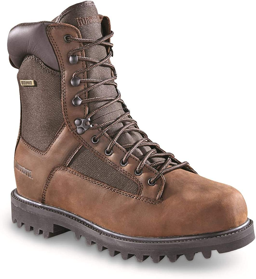 HUNRITE MENS INSULATED WATERPROOF HUNTING BOOTS