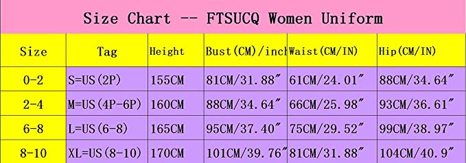FTSUCQ Womens//Girls The Future Diary Gasai Yuno Mirai Nikki Top/&Skirt Cosplay Costume