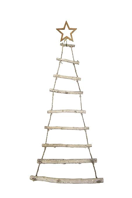 Moderner Hanger Tanne Aus Holzstaben Weihnachten Advent Deko Tannenbaum