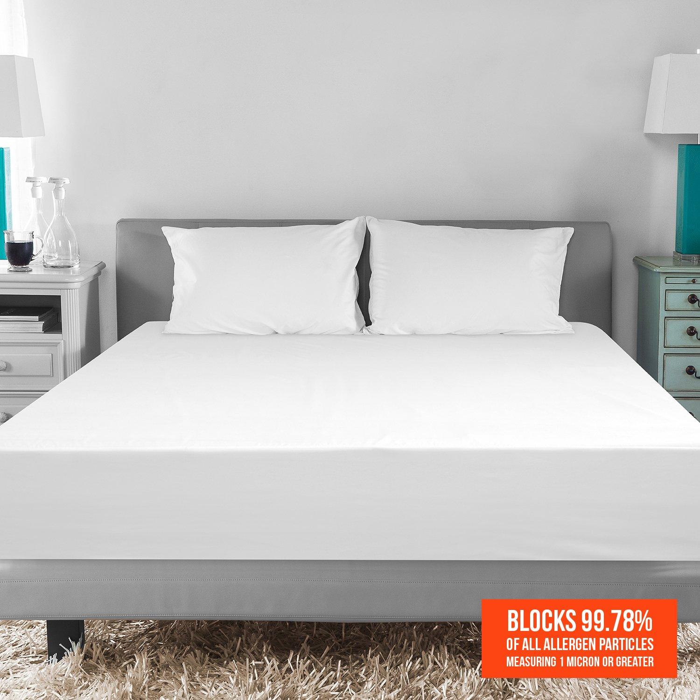 BioPEDIC MicroShield Mattress Protector Full White 71152